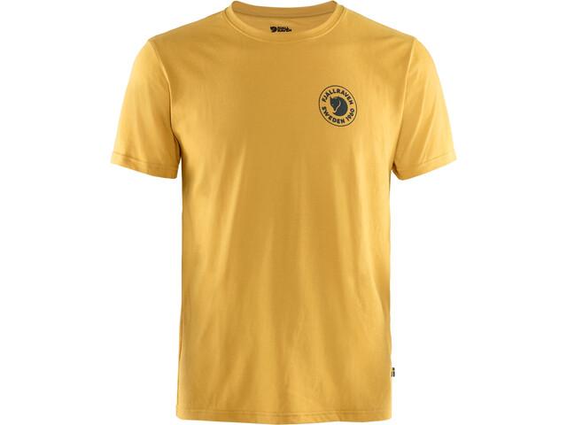 Fjällräven 1960 Logo T-Shirt Herren ochre